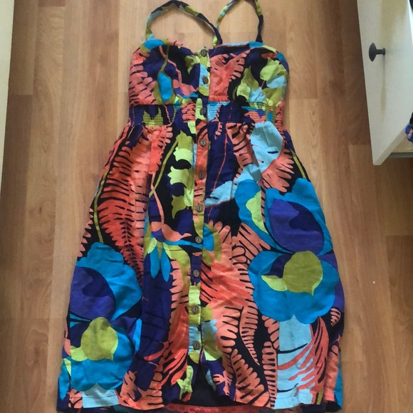 Anthropologie size 12 printed dress